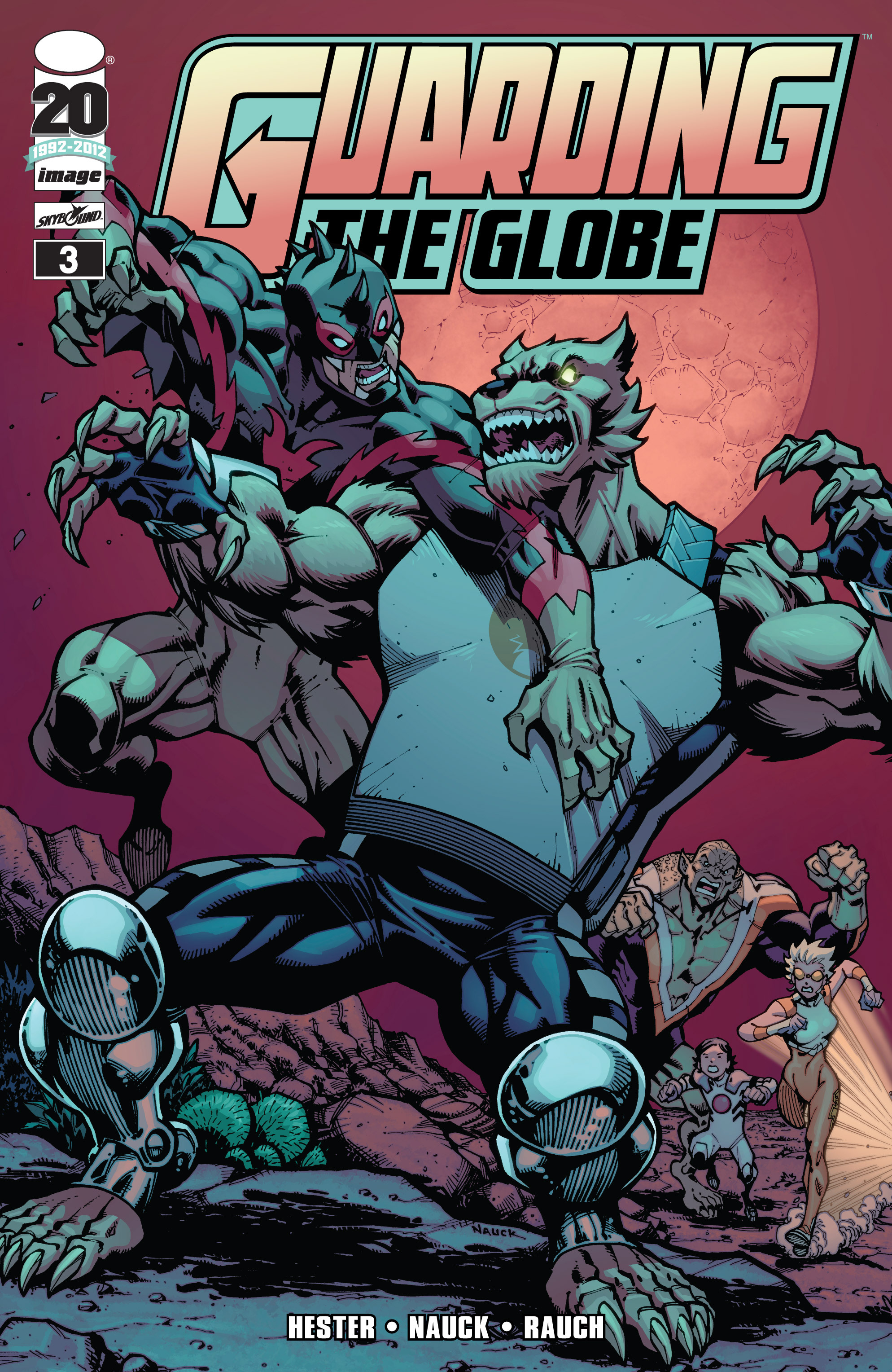 Read online Guarding the Globe (2012) comic -  Issue #3 - 1