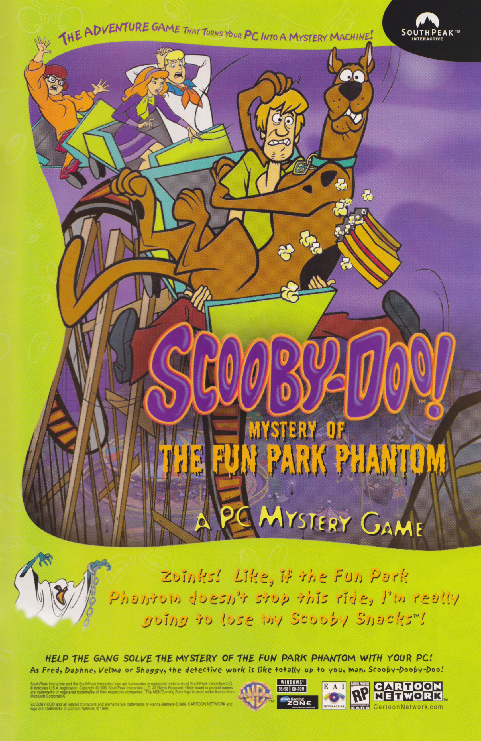 Read online Scooby-Doo (1997) comic -  Issue #30 - 24