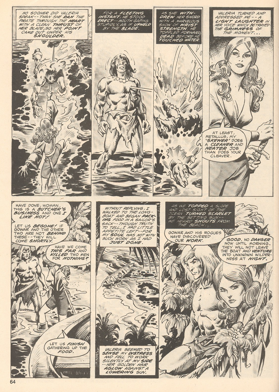 The Savage Sword Of Conan Issue #76 #77 - English 64