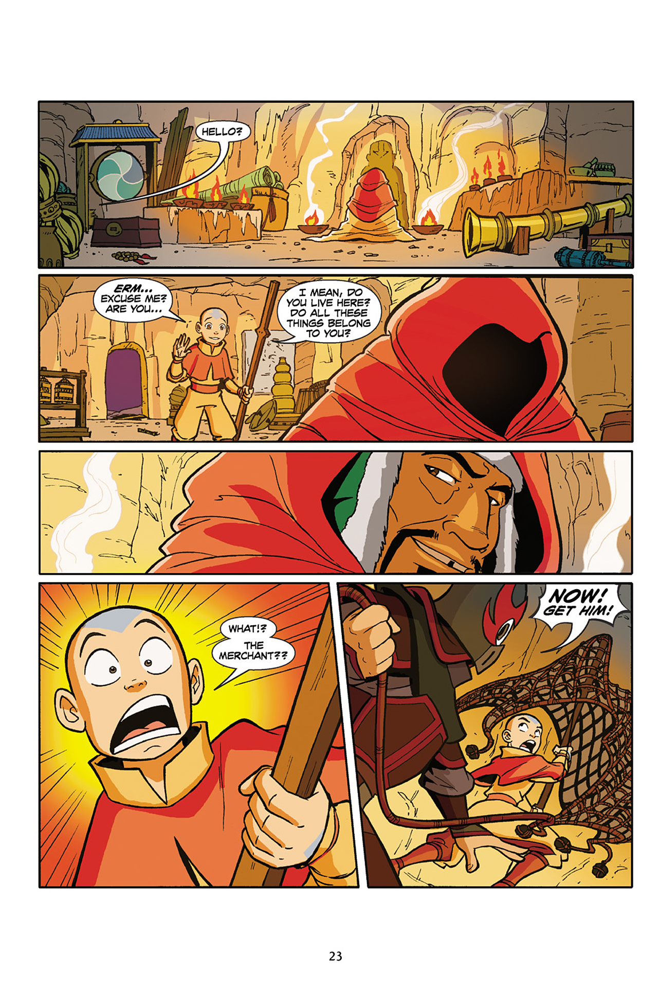 Nickelodeon Avatar: The Last Airbender - The Lost Adventures chap full pic 24