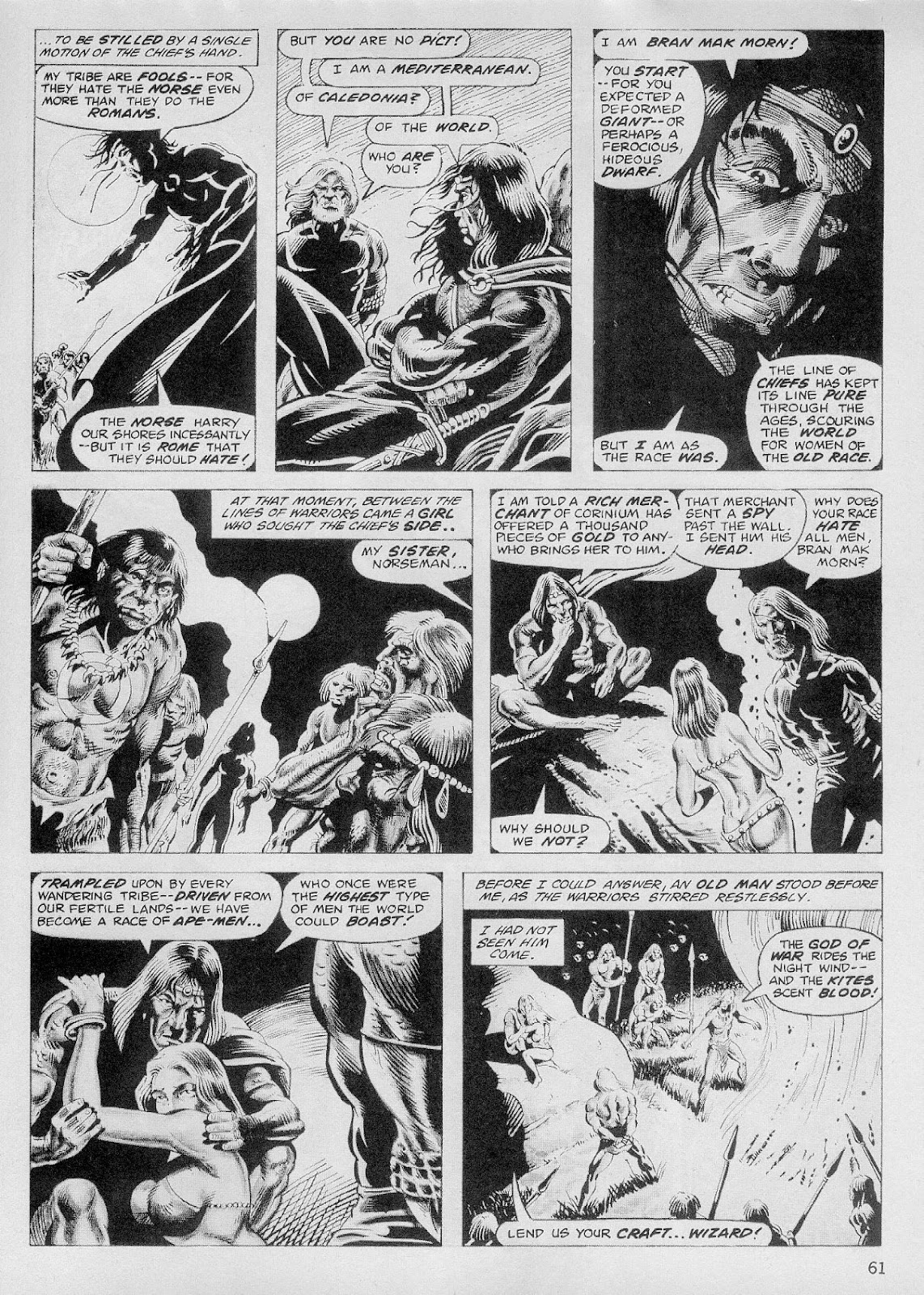The Savage Sword Of Conan Issue #103 #104 - English 60