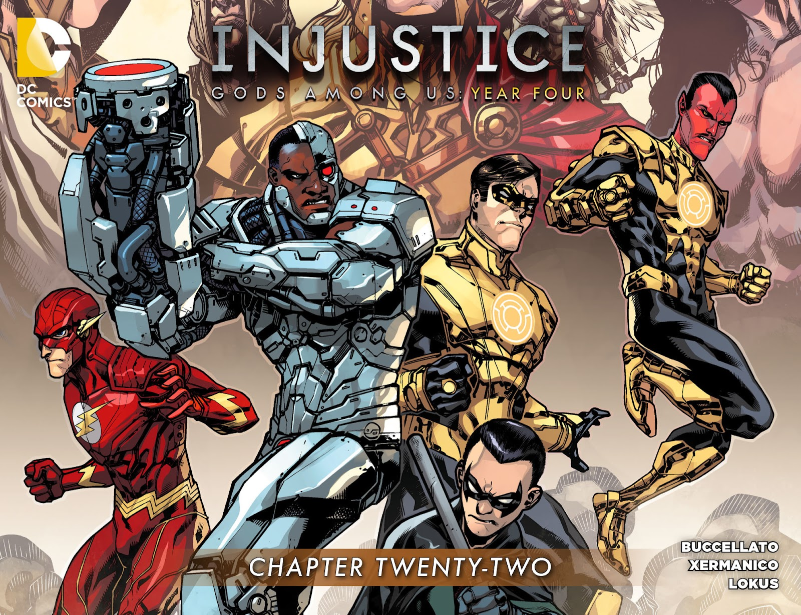 Injustice: Gods Among Us Year Four Issue #22 #23 - English 1