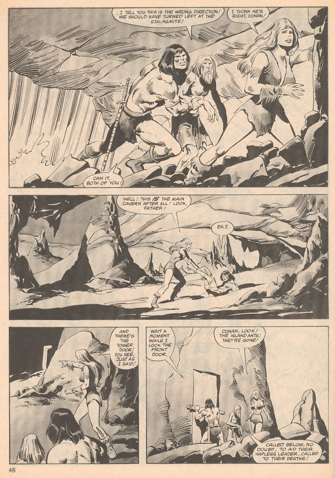 The Savage Sword Of Conan Issue #70 #71 - English 46