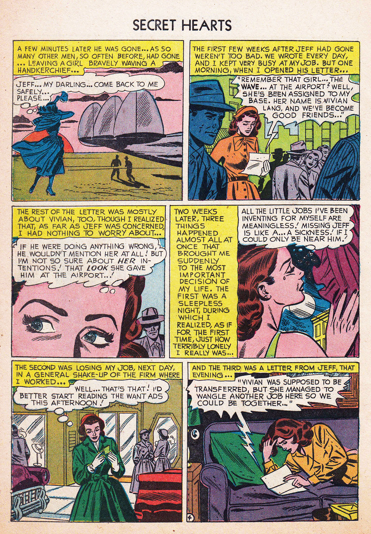 Read online Secret Hearts comic -  Issue #13 - 30