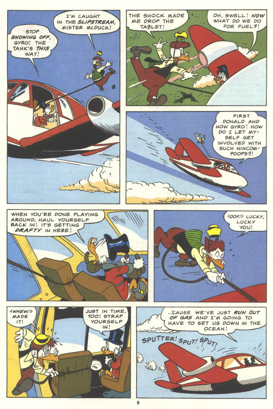 Uncle Scrooge (1953) Issue #259 #259 - English 6