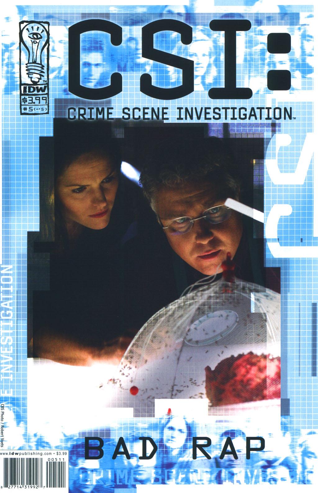 Read online CSI: Crime Scene Investigation: Bad Rap comic -  Issue #5 - 1