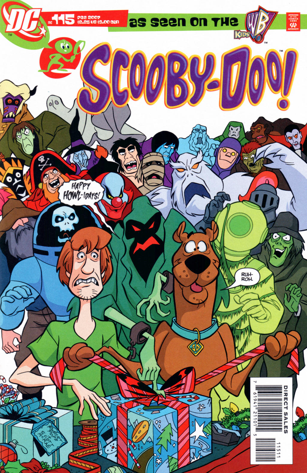 Read online Scooby-Doo (1997) comic -  Issue #115 - 1