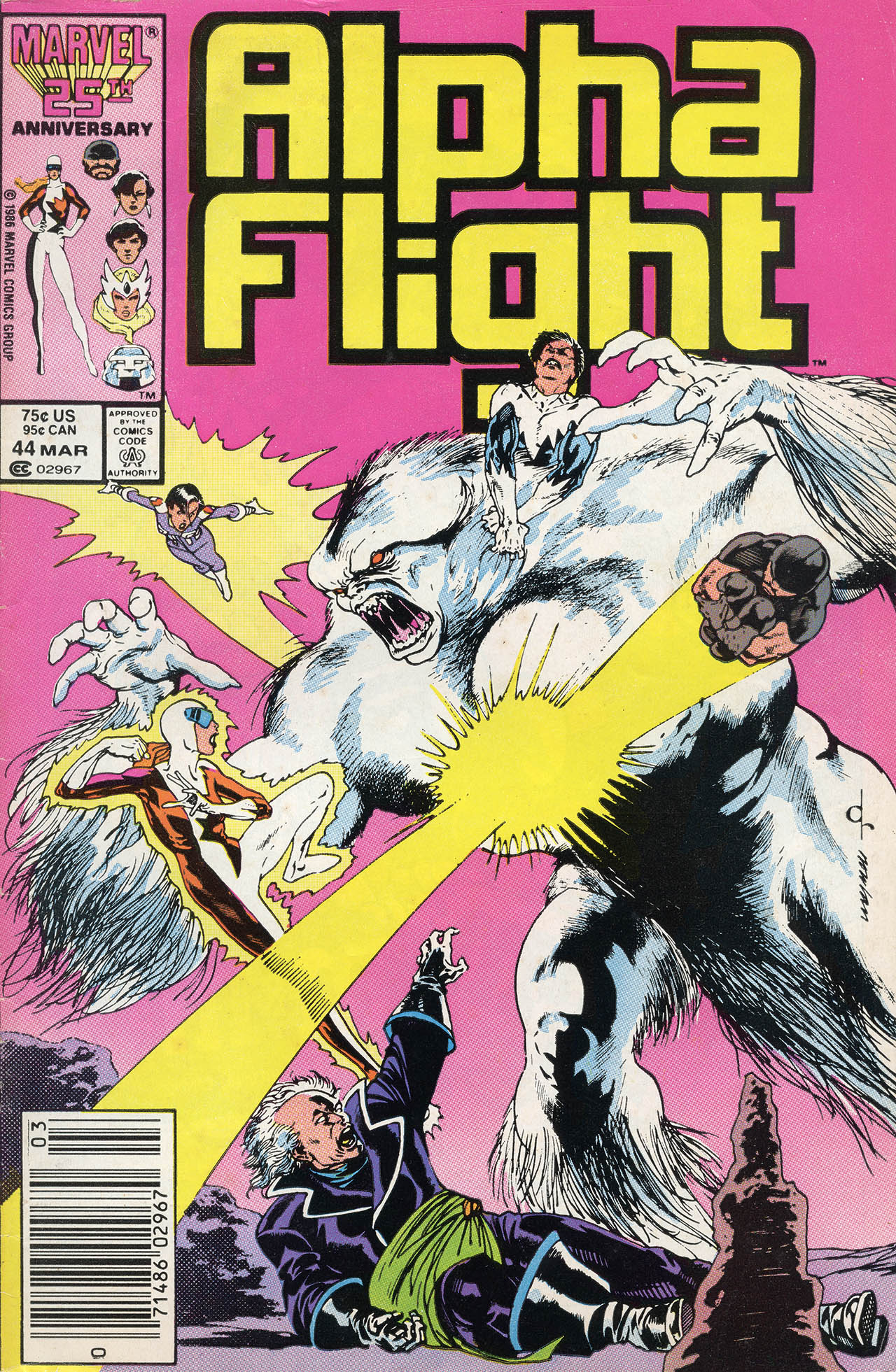 Alpha Flight (1983) 44 Page 1