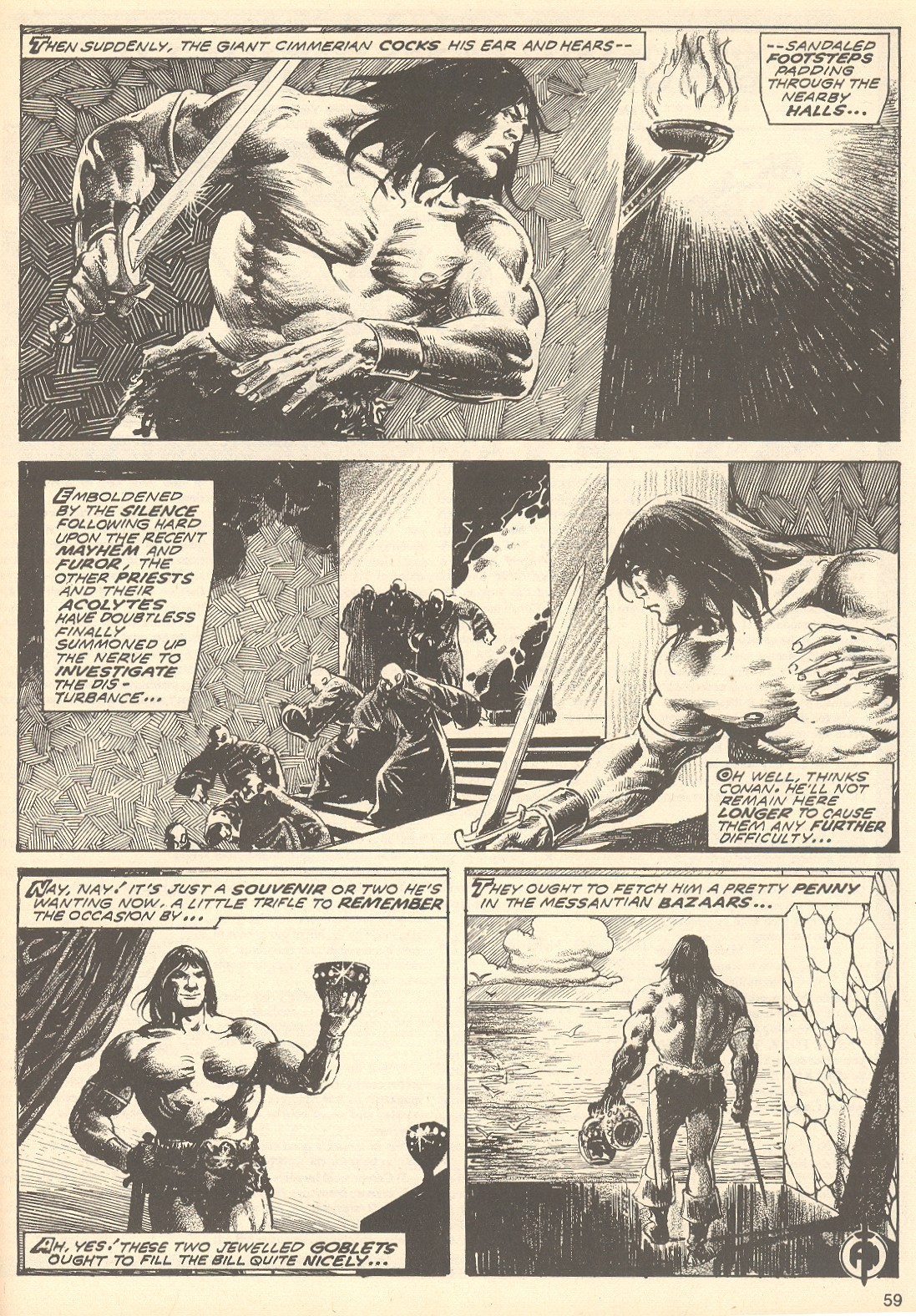 The Savage Sword Of Conan Issue #75 #76 - English 59