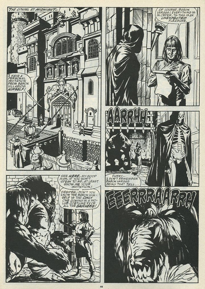 The Savage Sword Of Conan Issue #185 #186 - English 46