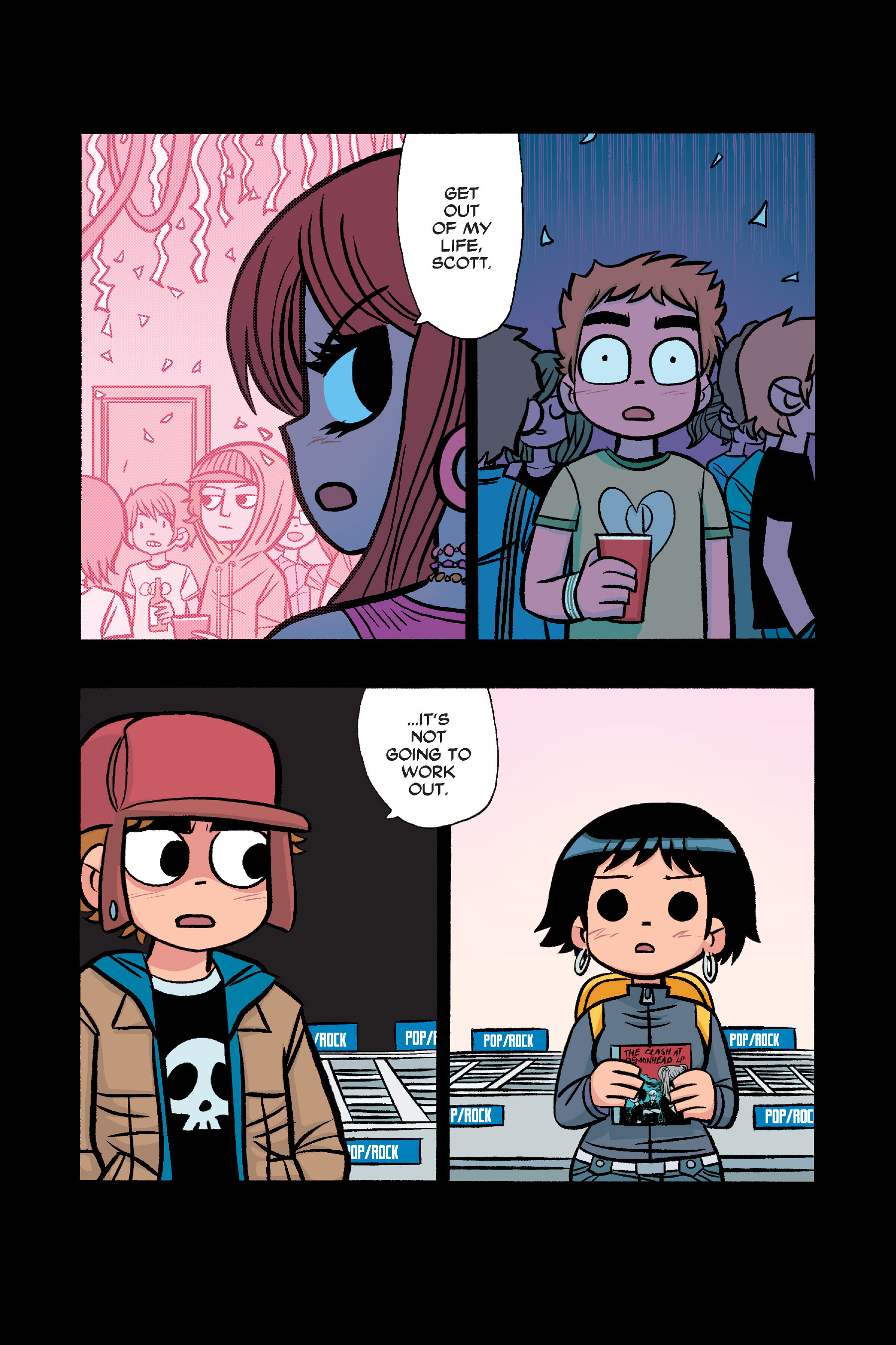 Read online Scott Pilgrim comic -  Issue #6 - 192