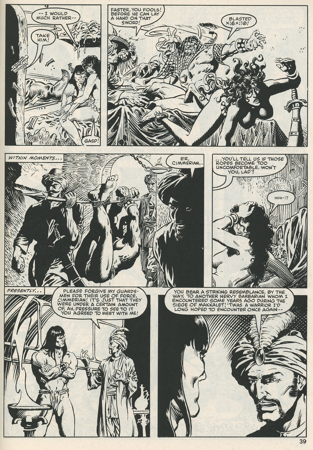 The Savage Sword Of Conan Issue #112 #113 - English 40