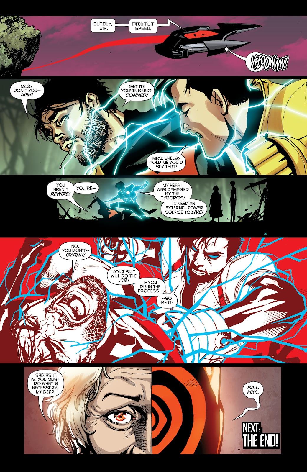 Batman Beyond (2015) Issue #15 #15 - English 21
