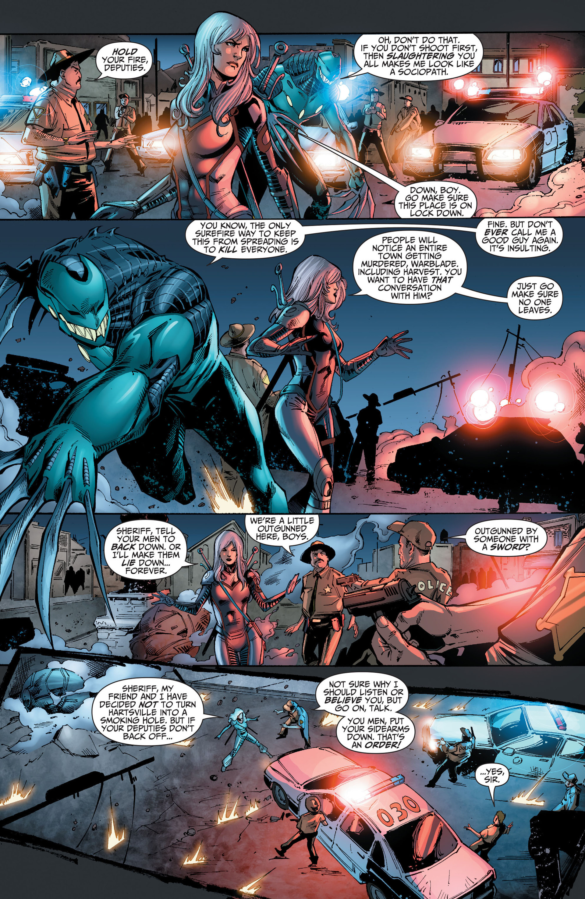 Read online The Ravagers comic -  Issue #8 - 9