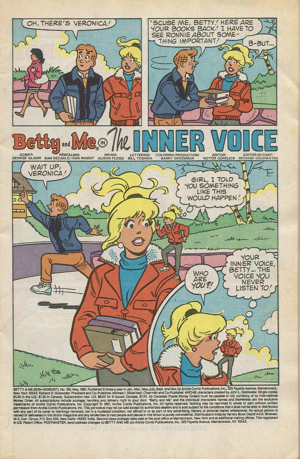 Read online Betty and Me comic -  Issue #190 - 3