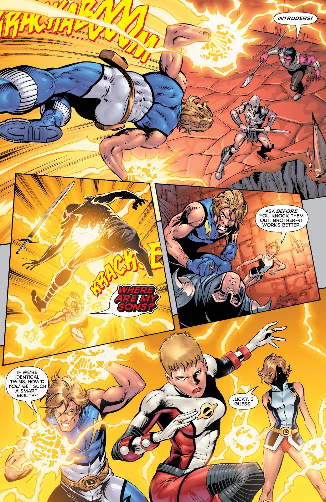 Legion of Super-Heroes (2010) Issue #4 #5 - English 12