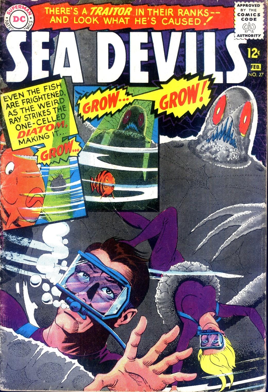 Read online Sea Devils comic -  Issue #27 - 2