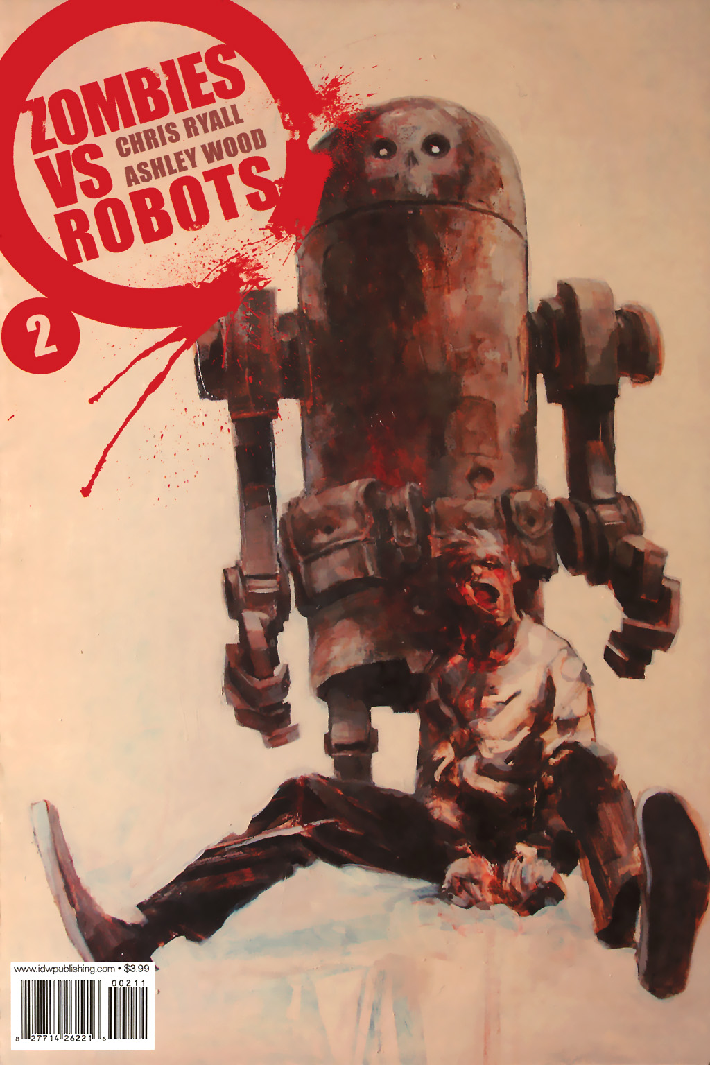 Zombies vs. Robots (2006) issue 2 - Page 1