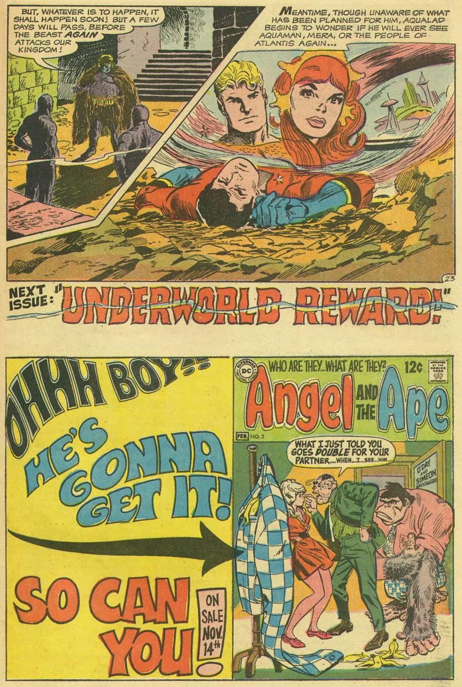 Read online Aquaman (1962) comic -  Issue #43 - 31
