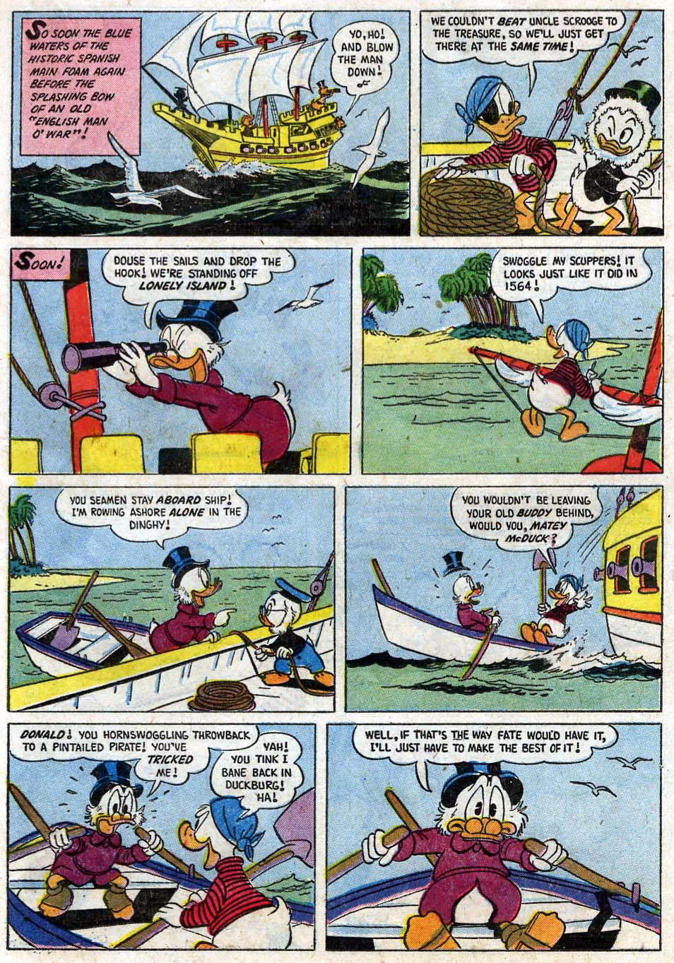 Uncle Scrooge (1953) Issue #16 #16 - English 21