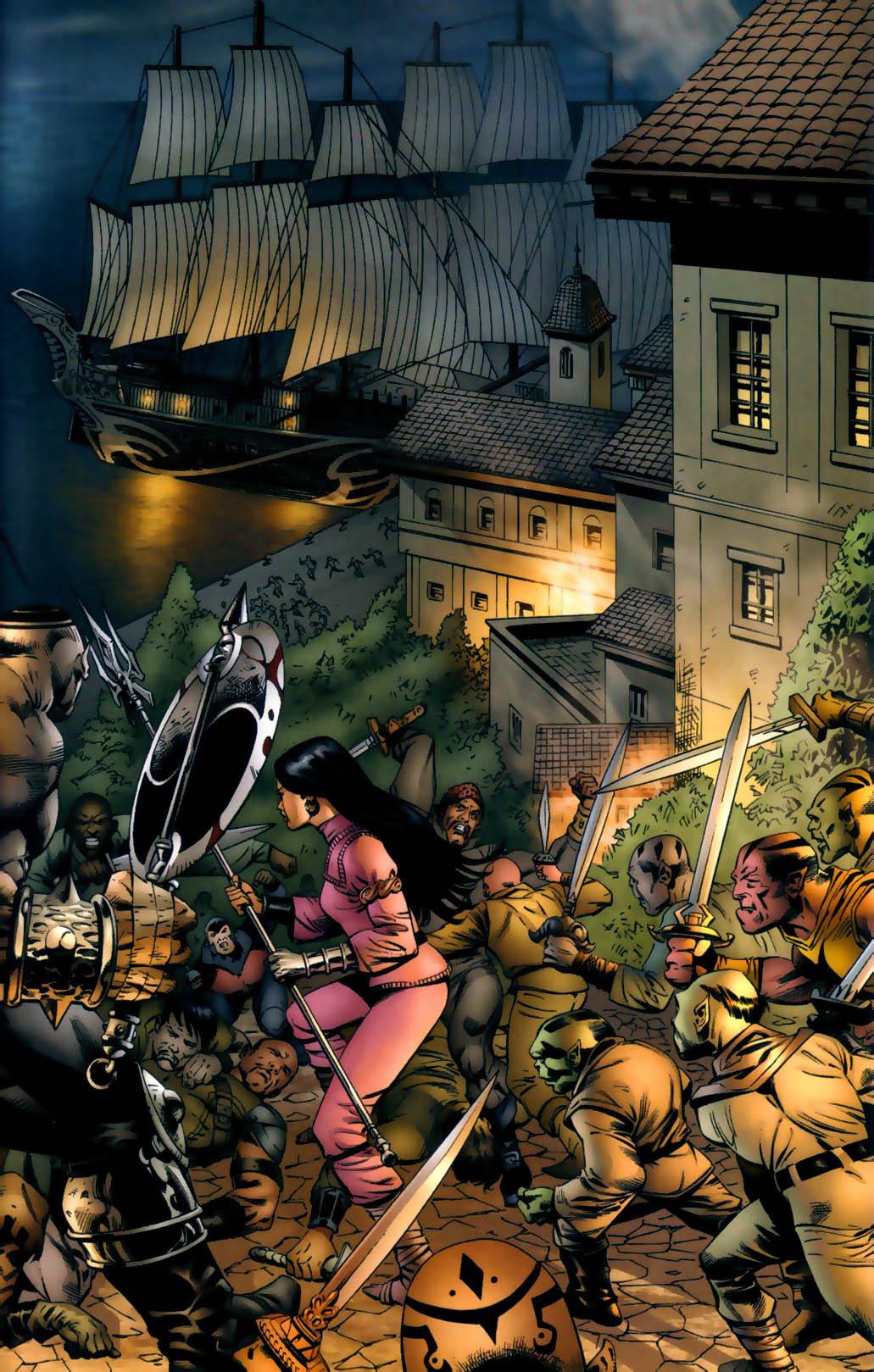 Read online Scion comic -  Issue #30 - 5