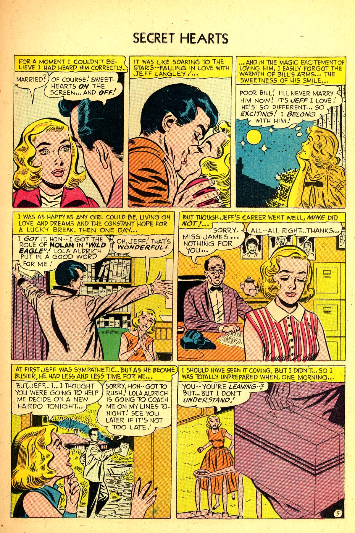 Read online Secret Hearts comic -  Issue #37 - 23