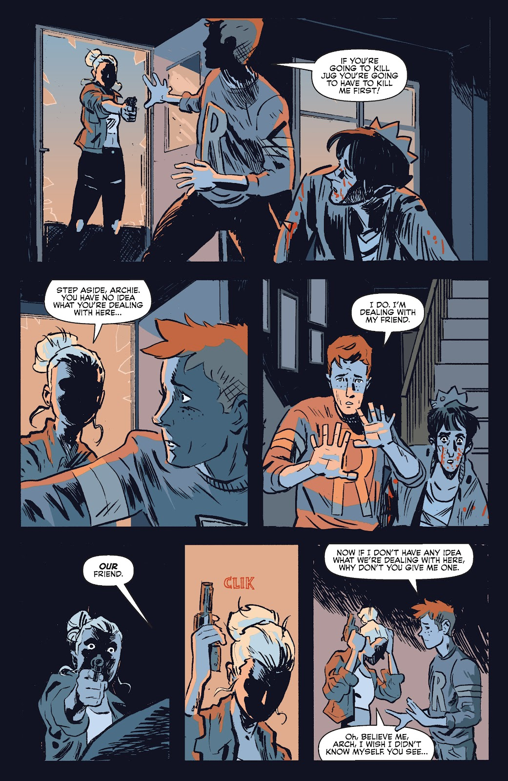 Jughead The Hunger Issue #0 #1 - English 28