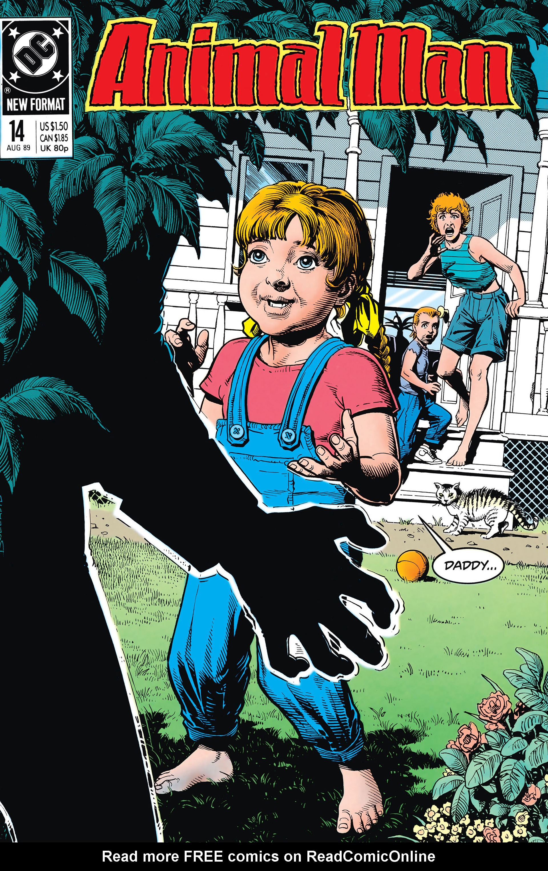 Animal Man issue 14 - Page 1