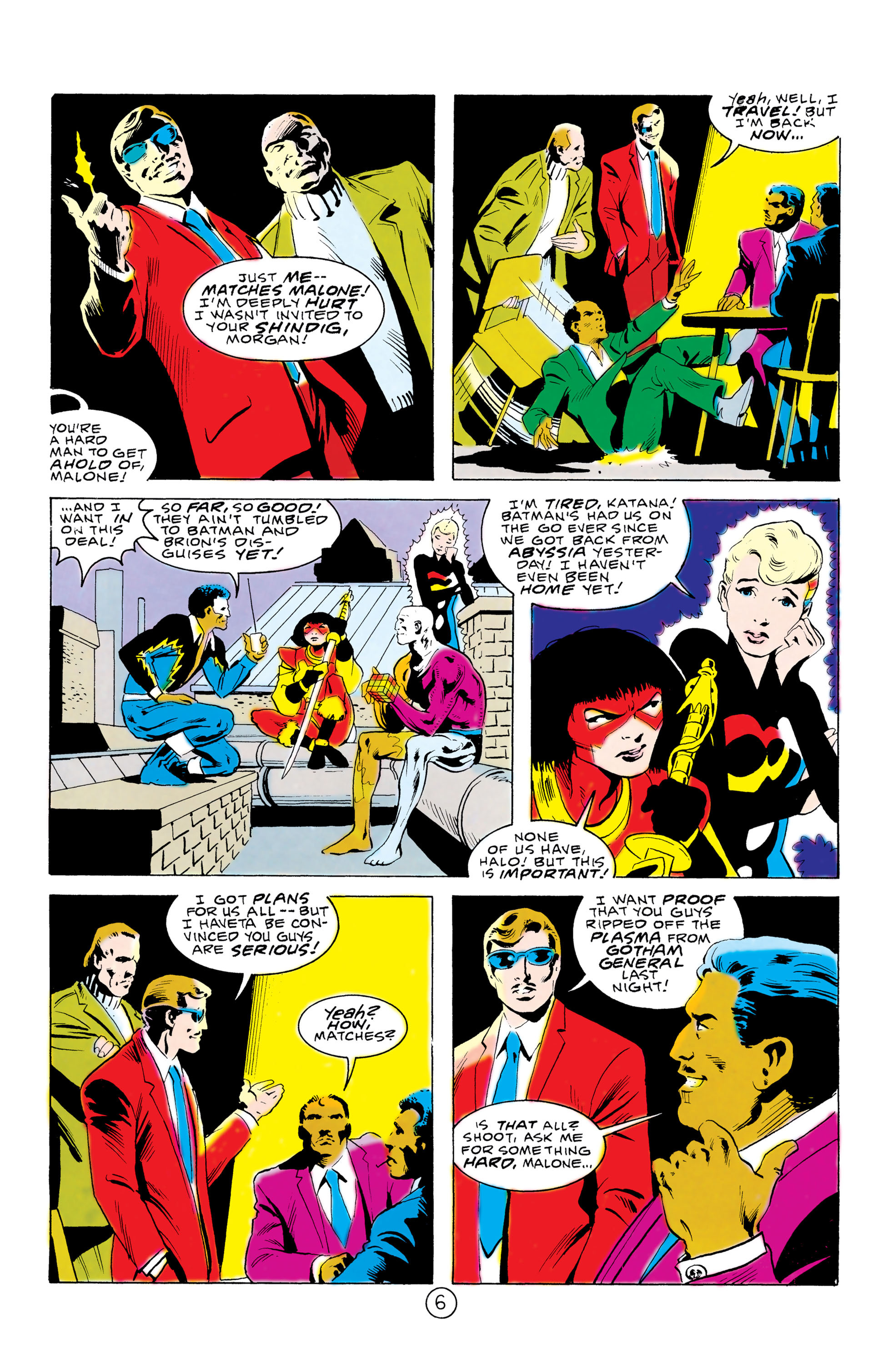 Batman and the Outsiders (1983) 32 Page 6