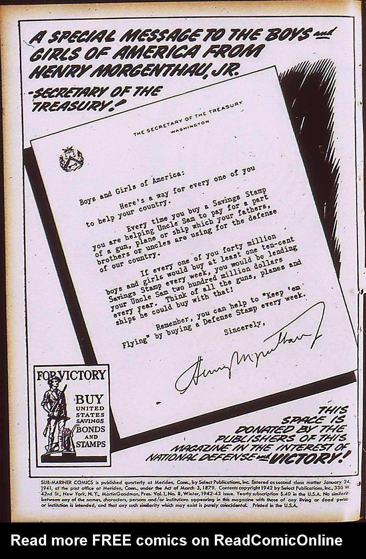 Sub-Mariner Comics Issue #8 #8 - English 3