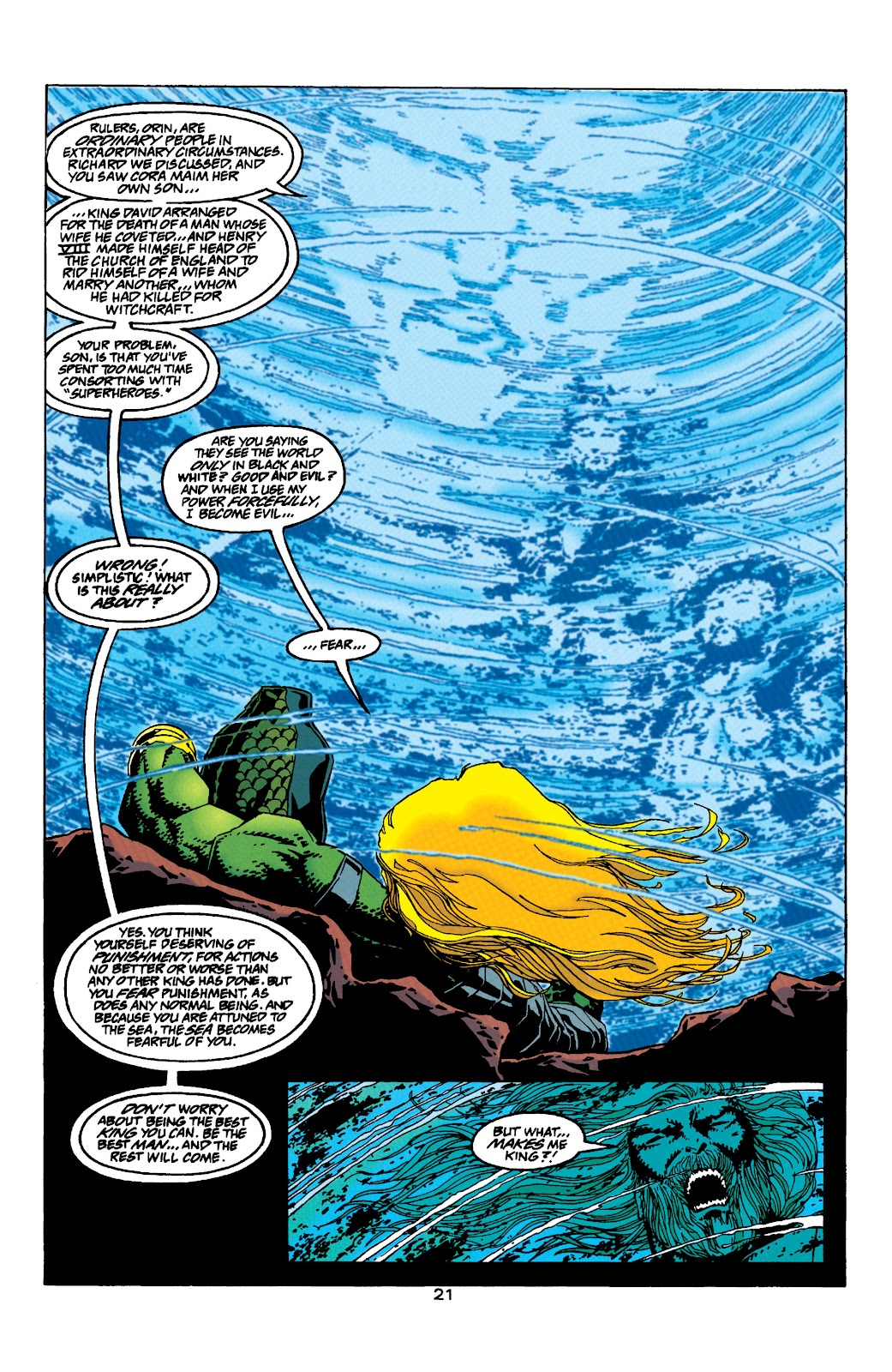 Aquaman (1994) Issue #33 #39 - English 19