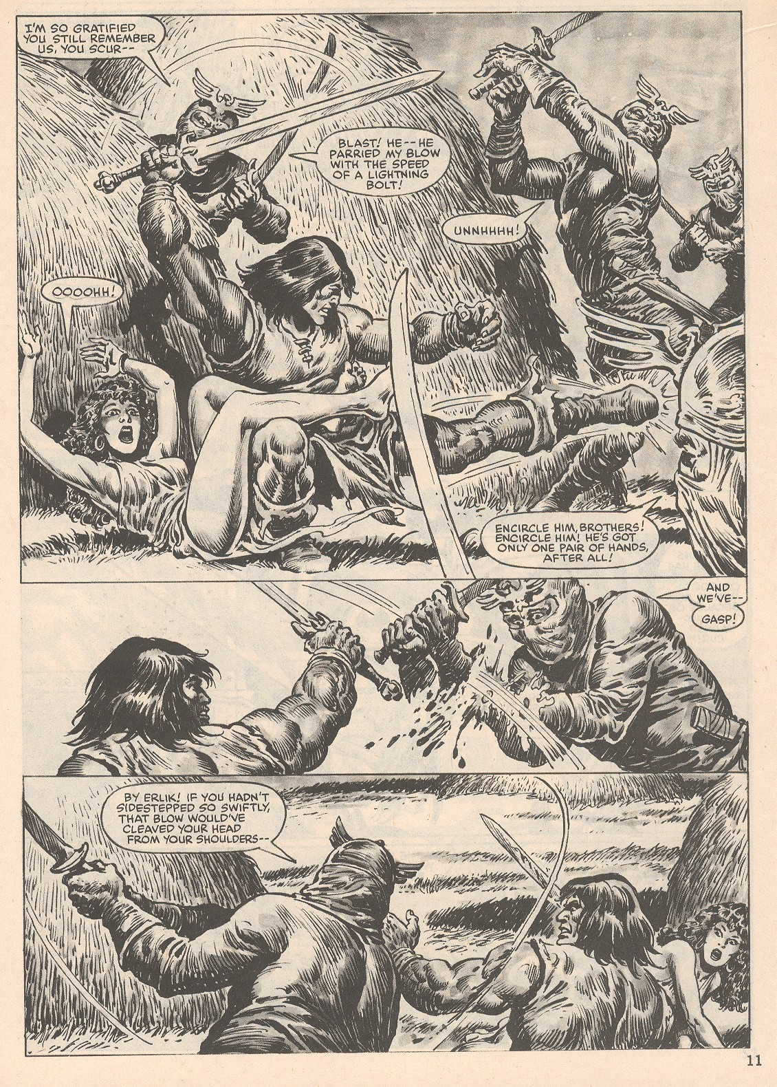 The Savage Sword Of Conan Issue #104 #105 - English 11