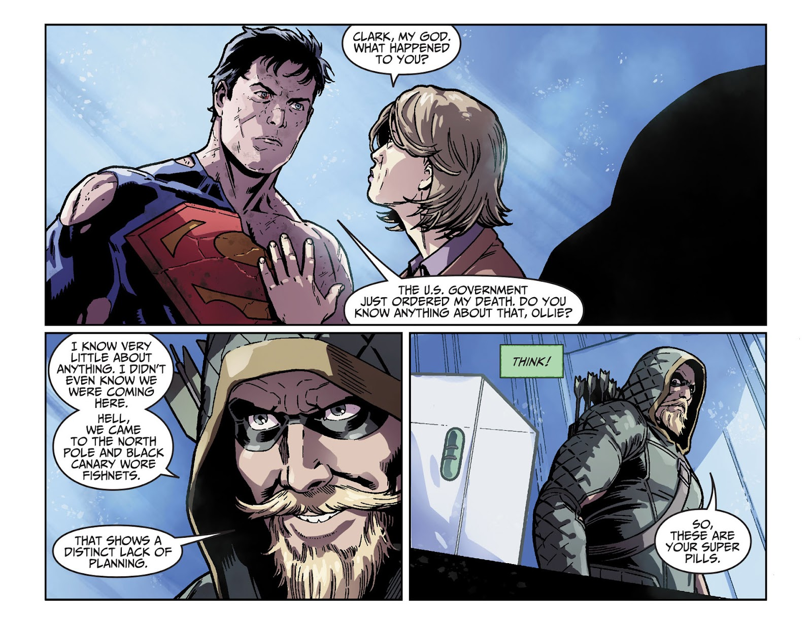 Injustice: Gods Among Us [I] Issue #33 #34 - English 10