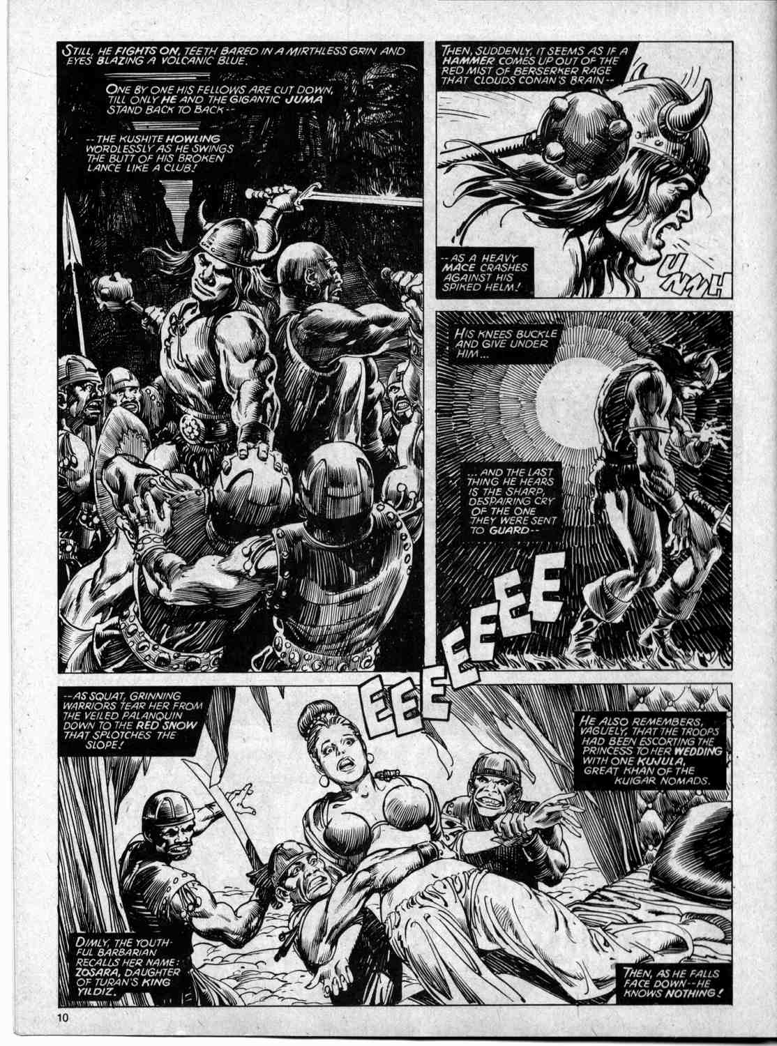 The Savage Sword Of Conan Issue #59 #60 - English 10