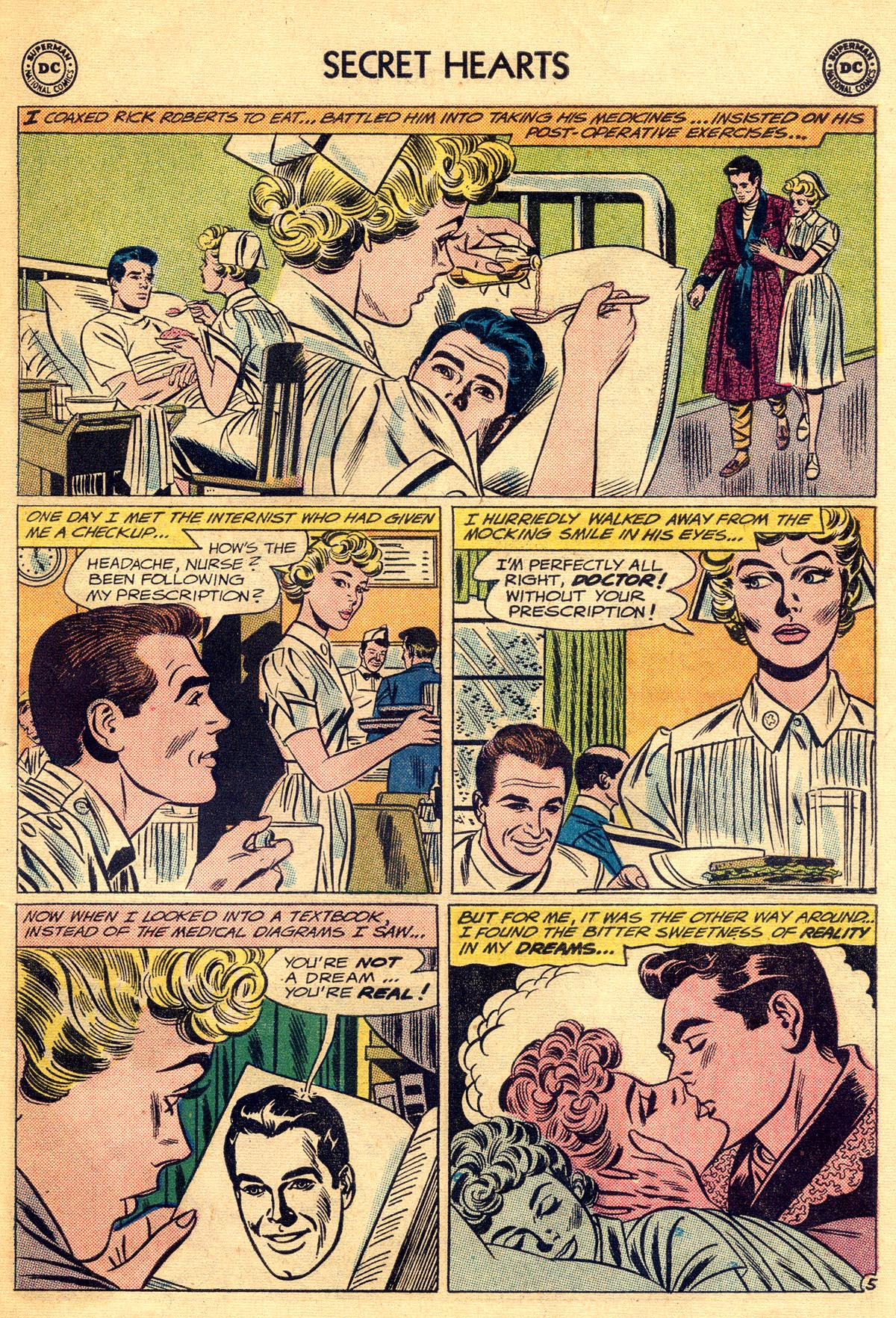 Read online Secret Hearts comic -  Issue #81 - 31