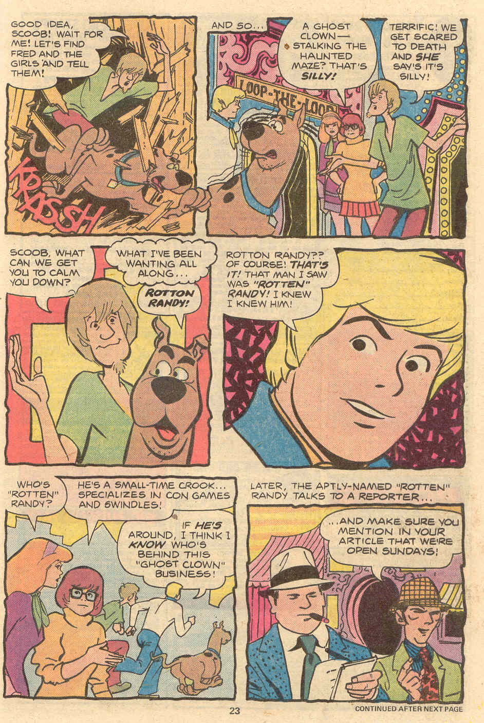 Read online Scooby-Doo (1977) comic -  Issue #2 - 16