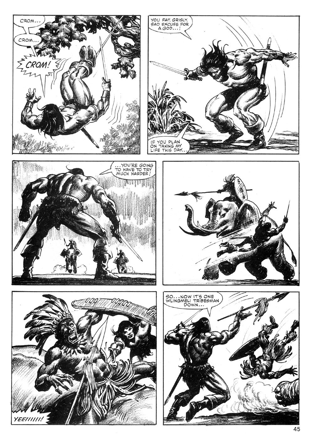 The Savage Sword Of Conan Issue #89 #90 - English 44