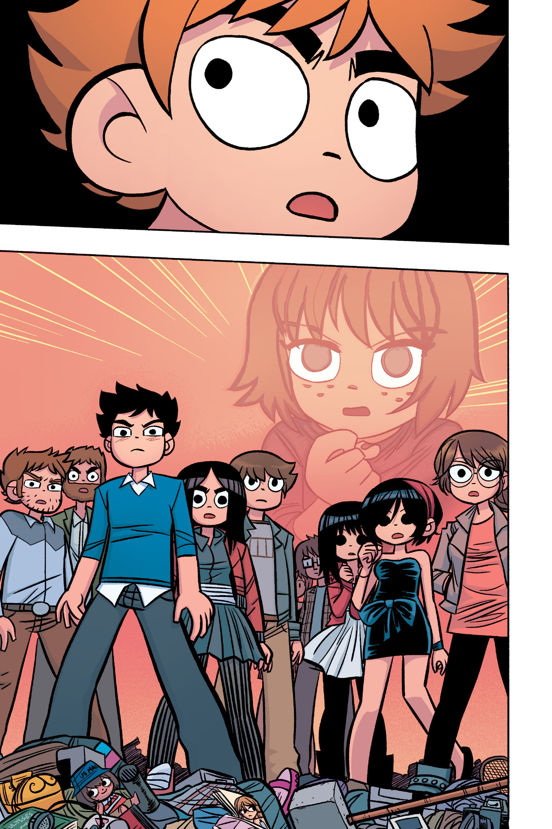 Read online Scott Pilgrim comic -  Issue #6 - 194