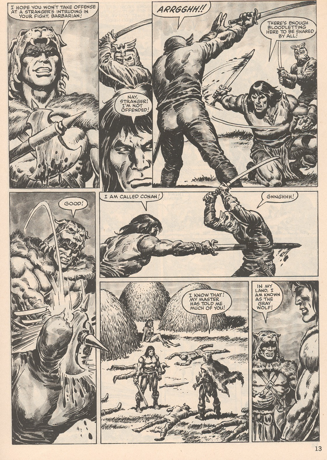 The Savage Sword Of Conan Issue #104 #105 - English 13