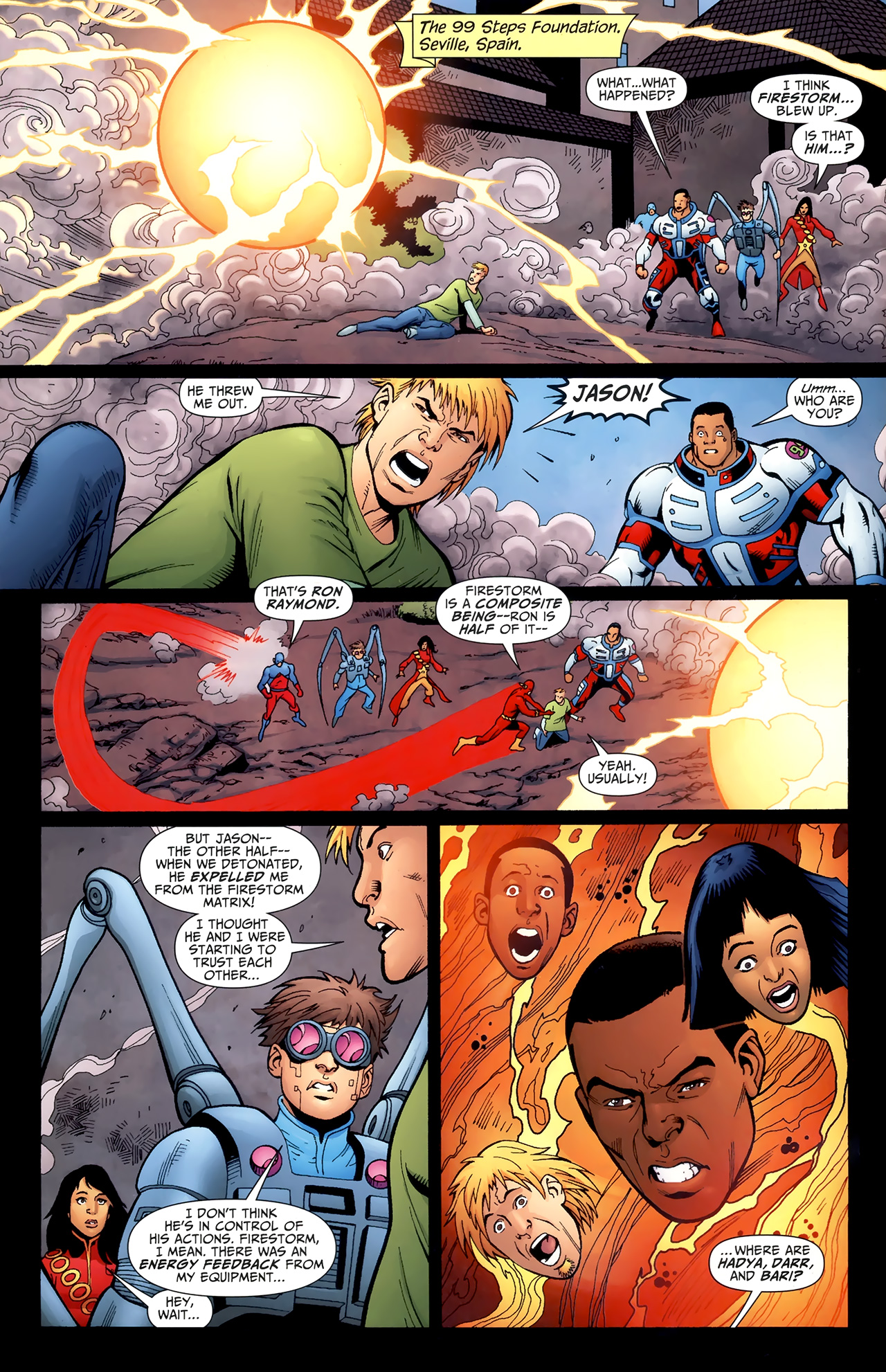 Read online Justice League of America/The 99 comic -  Issue #4 - 5