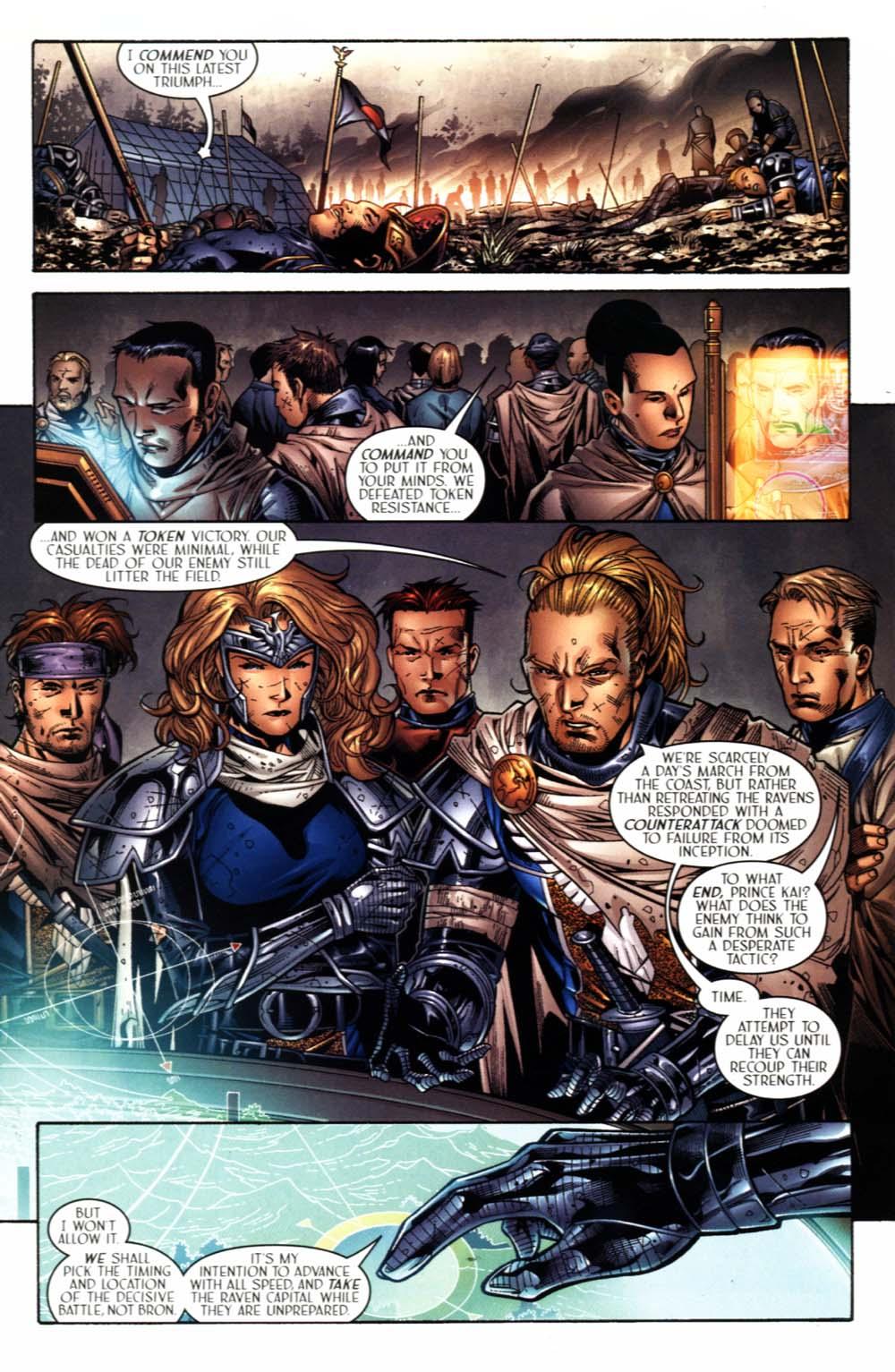 Read online Scion comic -  Issue #20 - 24