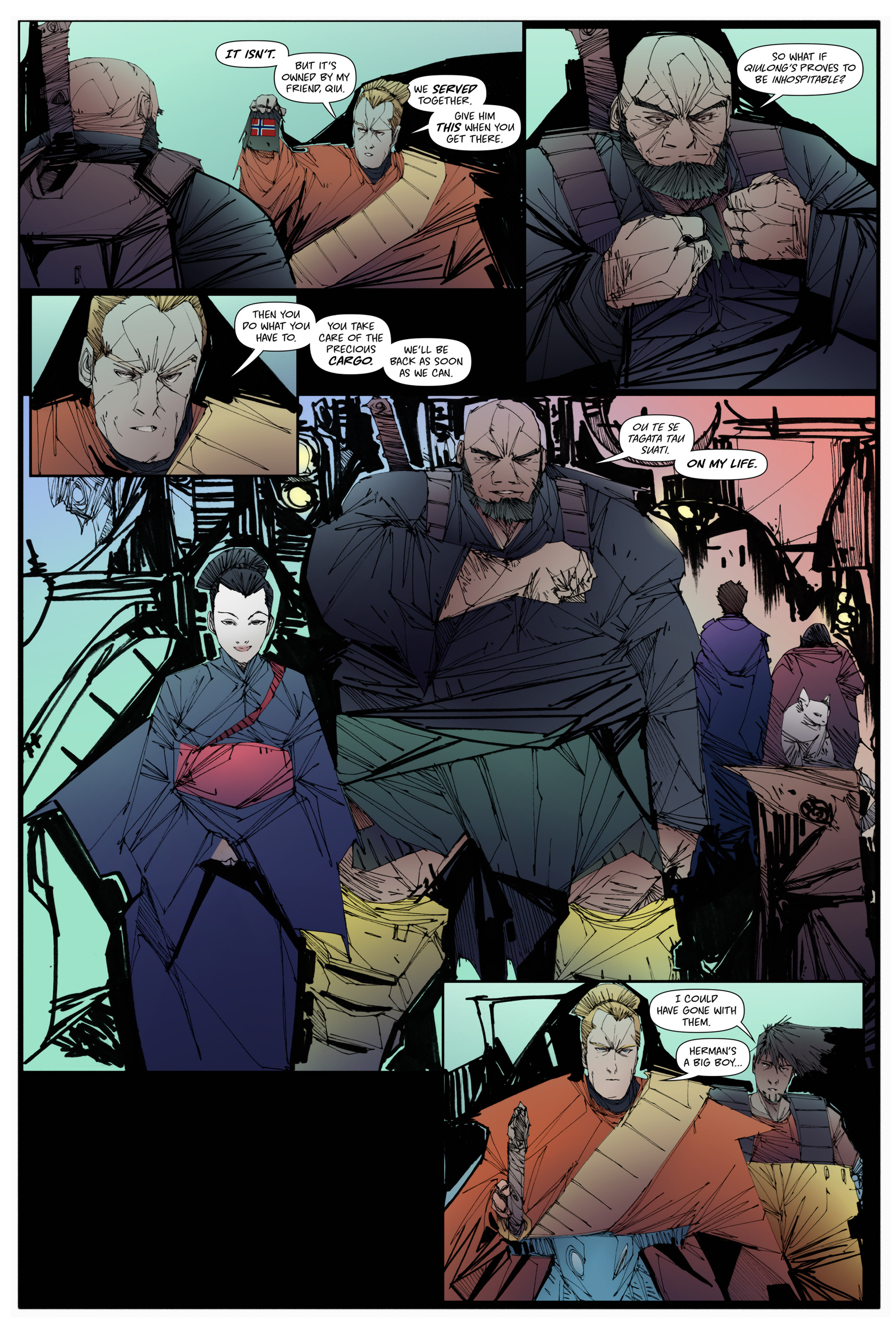 Read online Scrimshaw comic -  Issue #2 - 23
