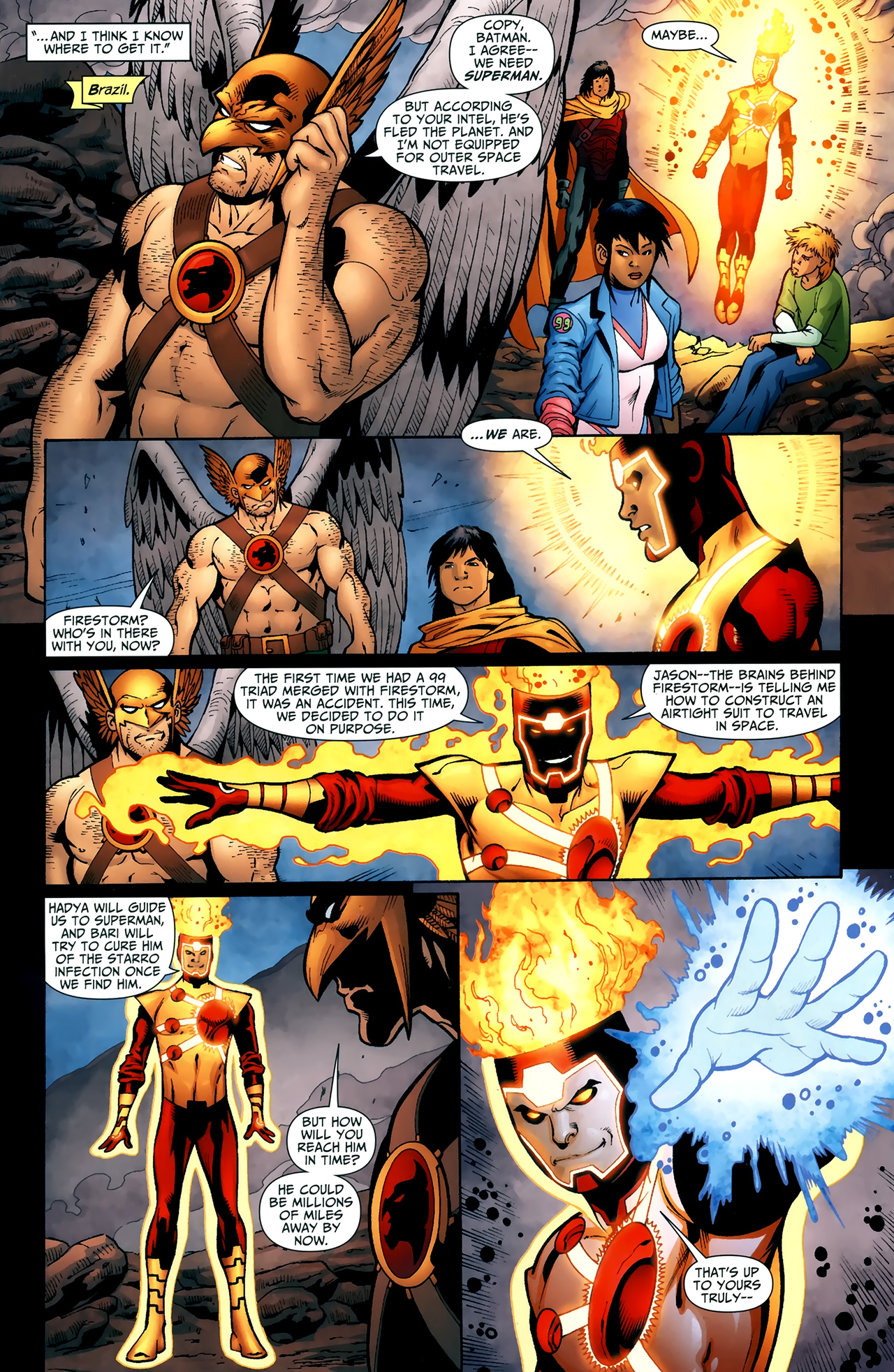 Read online Justice League of America/The 99 comic -  Issue #5 - 7