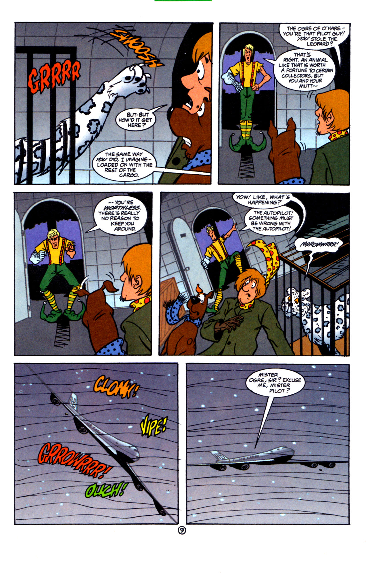 Read online Scooby-Doo (1997) comic -  Issue #7 - 10
