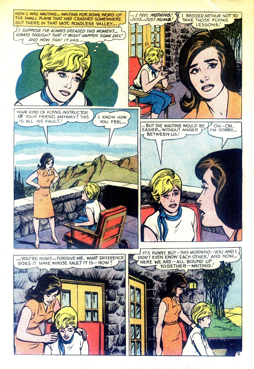 Read online Secret Hearts comic -  Issue #130 - 8