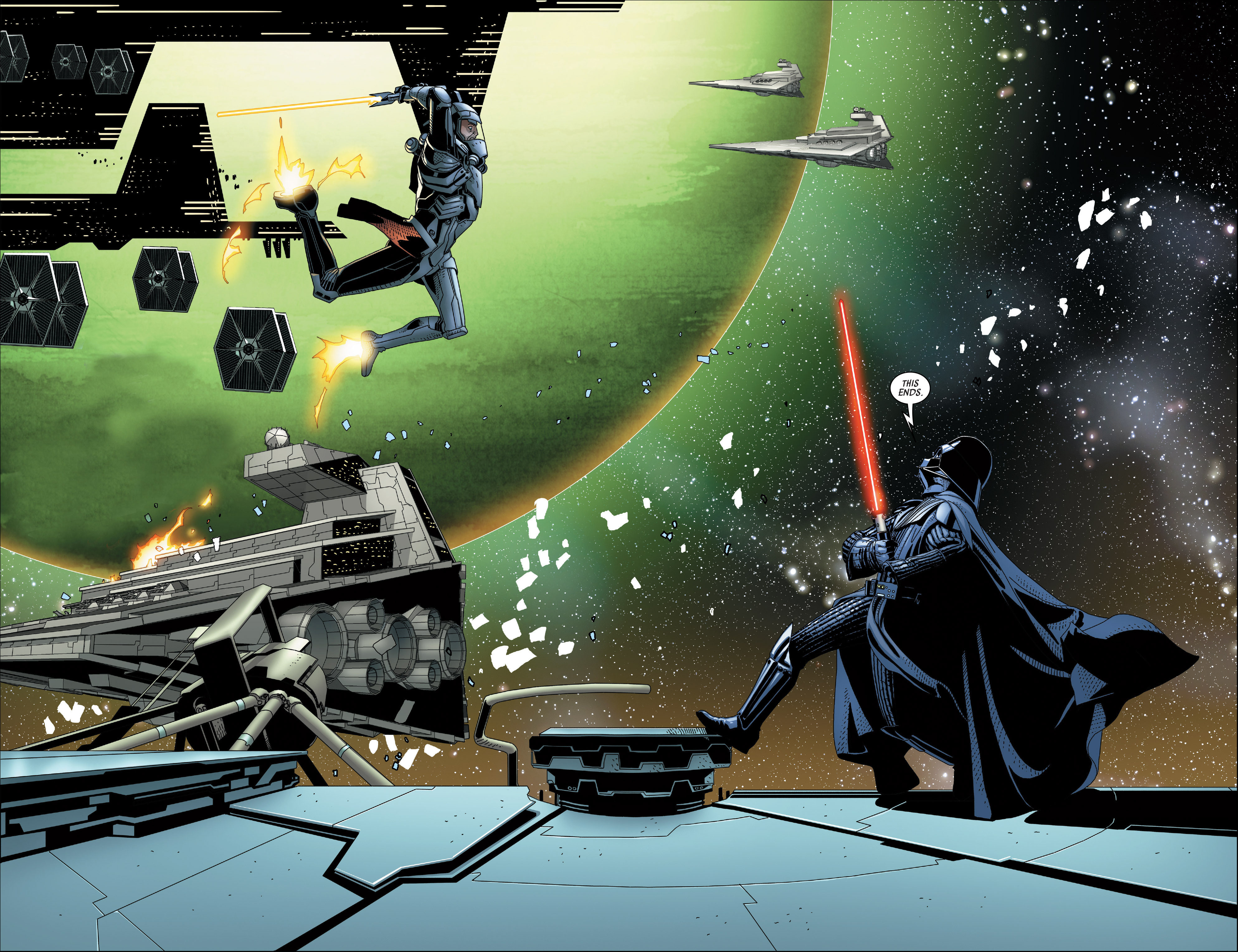 Read online Darth Vader comic -  Issue #23 - 12