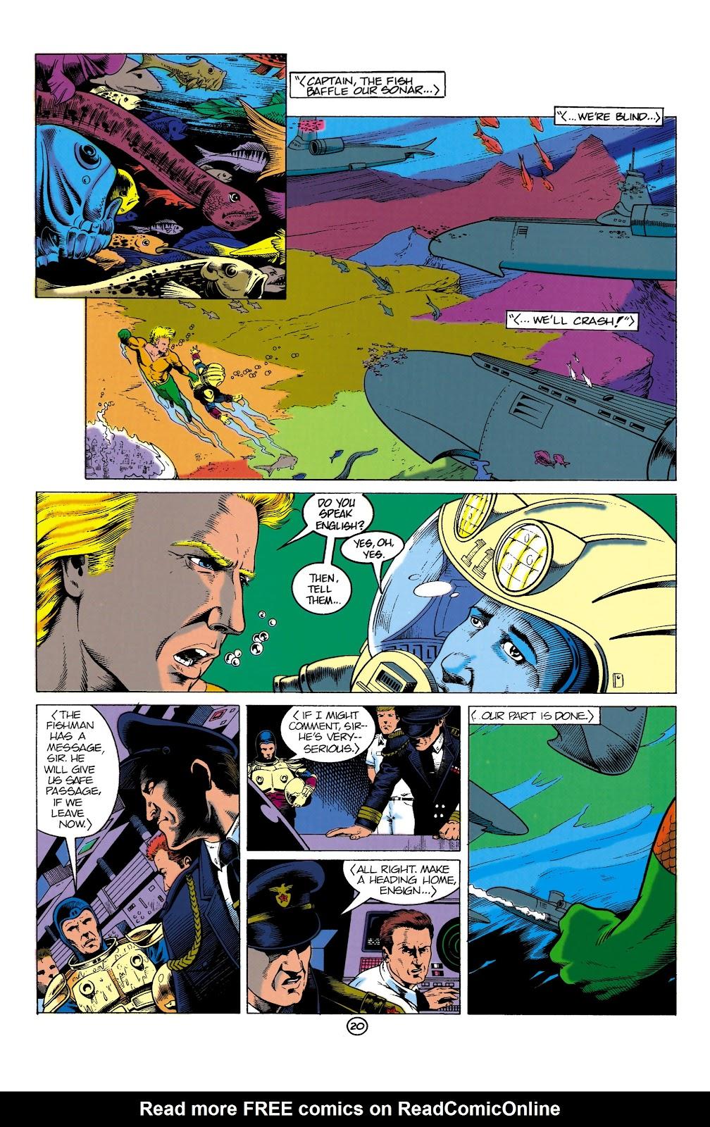 Aquaman (1991) Issue #1 #1 - English 20