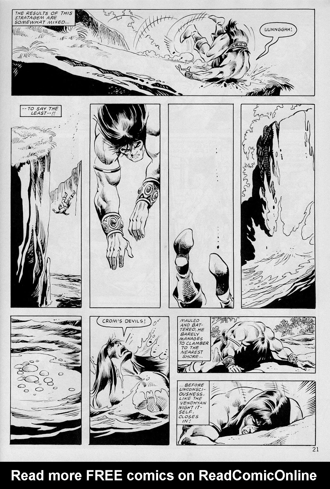 The Savage Sword Of Conan Issue #103 #104 - English 20