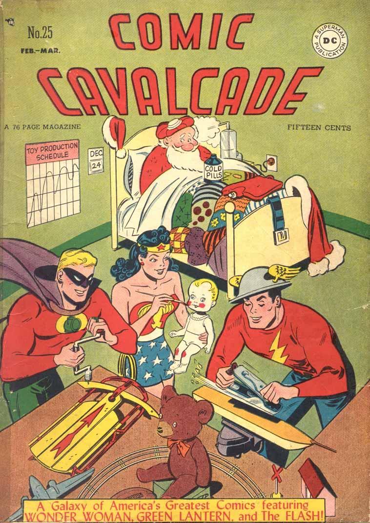 Comic Cavalcade 25 Page 1