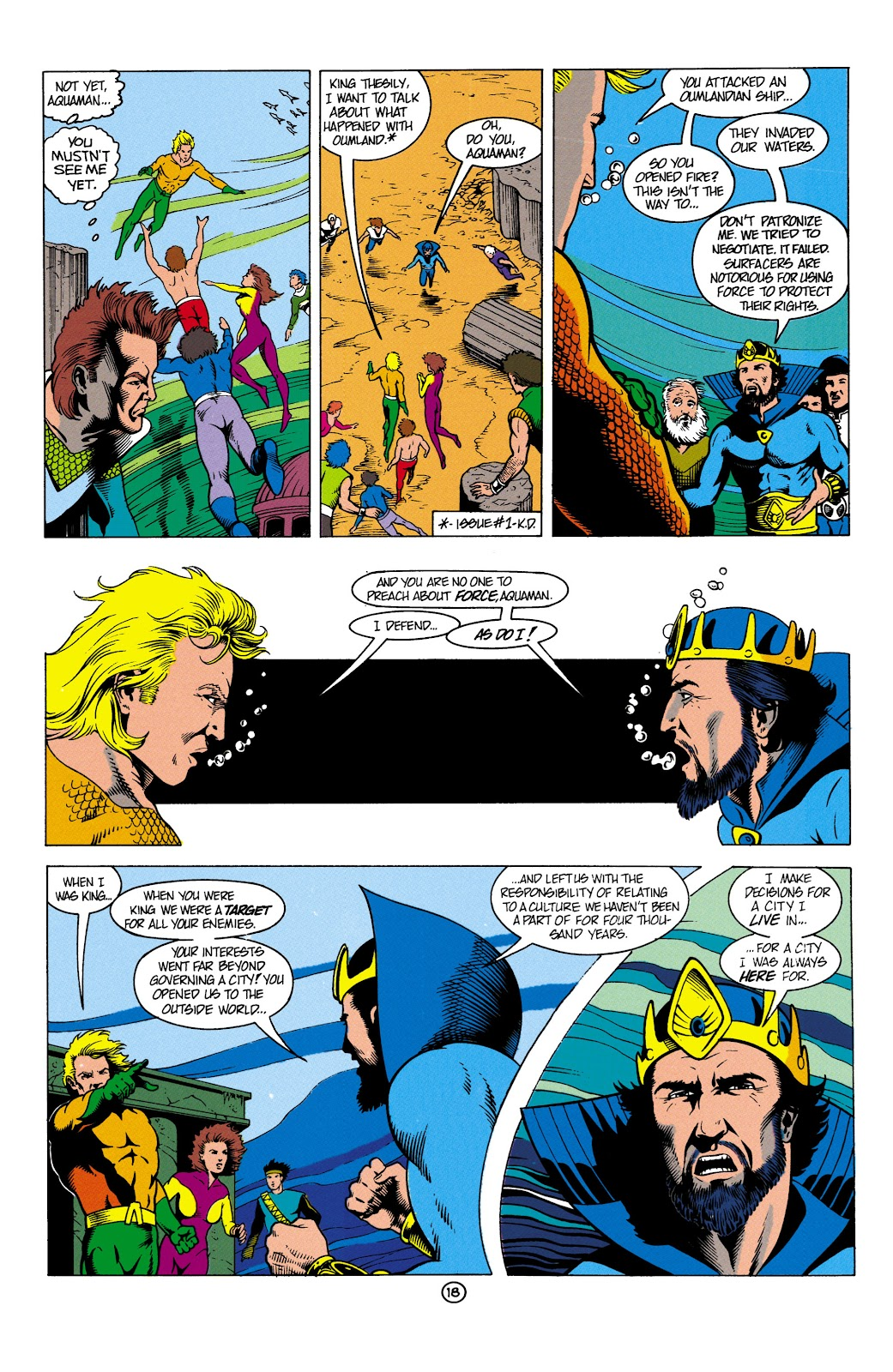 Aquaman (1991) Issue #4 #4 - English 19